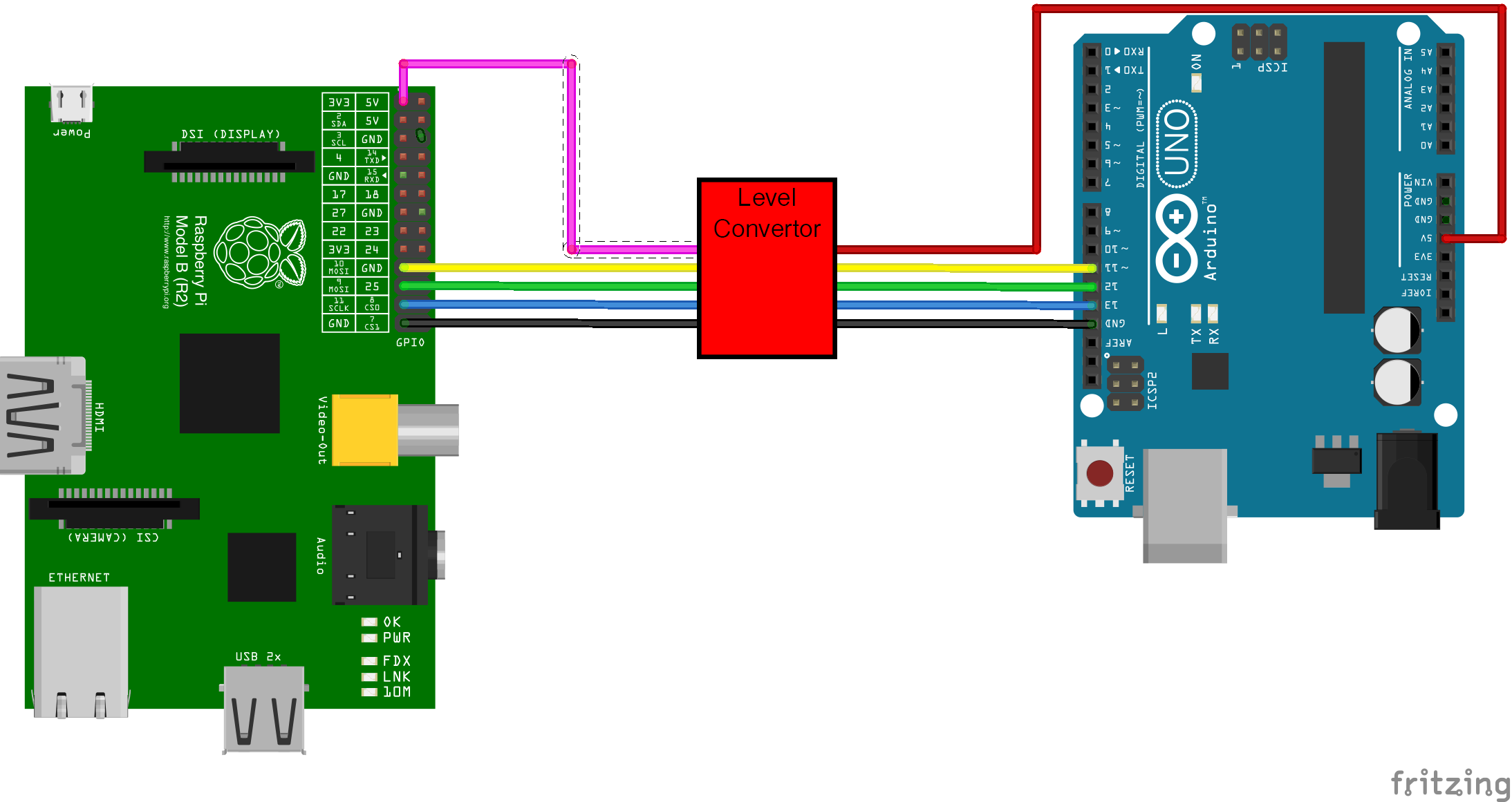 Connecting an Arduino to a Raspberry PI using I2C