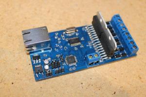 Motor controller assembled